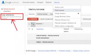 AdWords - cesty vyhledávání
