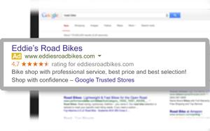Hodnocení + recenze z Google Trusted Stores