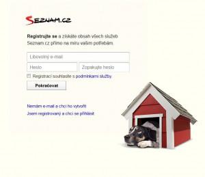 sklik registrace